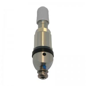 Metallventil für CUB Uni-Sensor (129308) silber