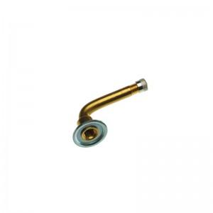 Ventil Lkw schraub. 1 x gebogen   50 mm