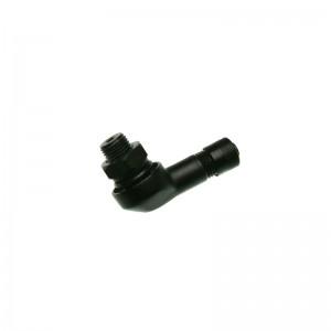 Ventil Motorr.Alu8,3mm 90° Win. schwarz