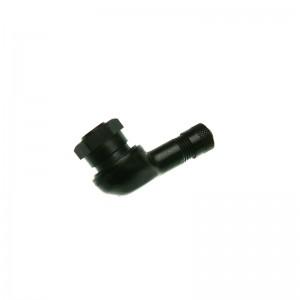 Ventil Motorr.Alu11,3mm 90° Win. schwarz