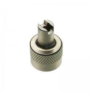 Ventilkappe, Metall, mit Schlüssel