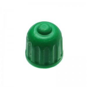 Ventilkappe, Plastik, grün