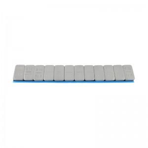 Klebegew. 60 g FE Riegel 5gx12; b Folie; grau