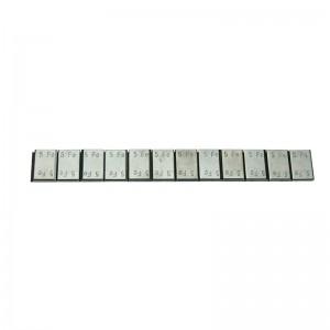 Klebegew. Stahl  Riegel 12 x 5g verzinkt