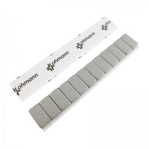 Klebegewicht Stahl Riegel 12 x 5g beschichtet mit Lohmann Tape