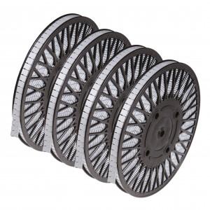 Klebegewicht Rolle Stahl verzinkt 4 x 6kg Rolle
