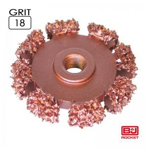 "RFBOT Ø50x 10mm, AH 3/8""x24thread, 132063 Grit 18"