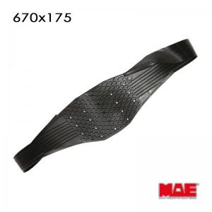 MAE Wicking Pads ARC-System Nr.1139 670x175mm