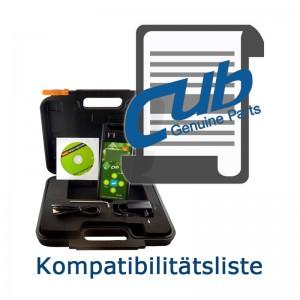 CUB Kompatibilitätsliste