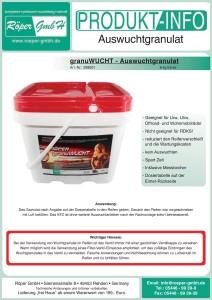 granuWUCHT Produktinformation