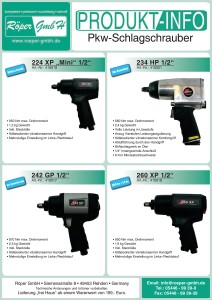 Pkw-Schlagschrauber Produktinformation