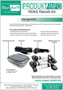 RDKS-Retrofit-Kit Produktflyer