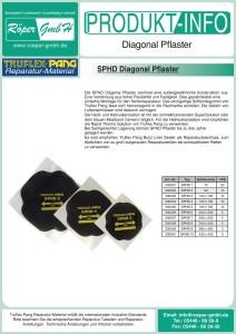 Diagonal-Pflaster Produktinformation