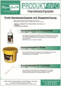 Handwaschpaste Produktinformation