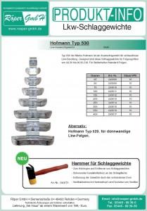 Lkw-Gewichte Produktinformation