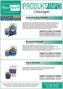 Chemische Lösungen Produktinformation