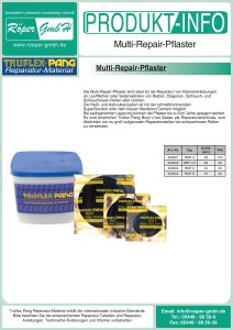 Multi-Repair-Pflaster Produktinformation