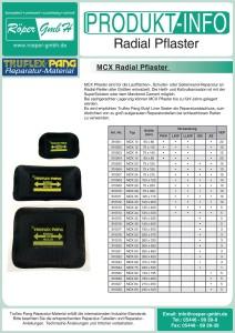 Radial-Pflaster Produktinformation