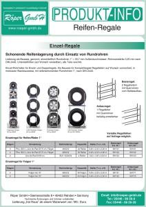 Reifenregal Produktinformation