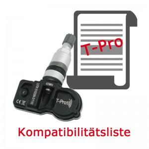 T-Pro Hybrid 1.5 Kompatibilitätsliste